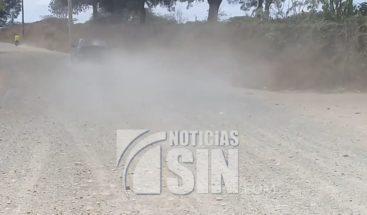 Exigen arreglo de carretera en Santiago Rodríguez