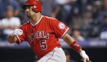 El dominicano Albert Pujols y el japonés Ohtani castigan con jonrones a los Dodgers