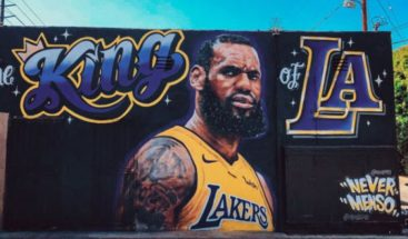LeBron James, rey de los Lakers y príncipe de Hollywood