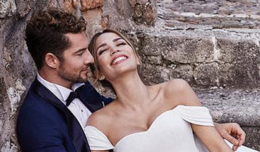 David Bisbal y Rosana Zanetti contraen matrimonio en una