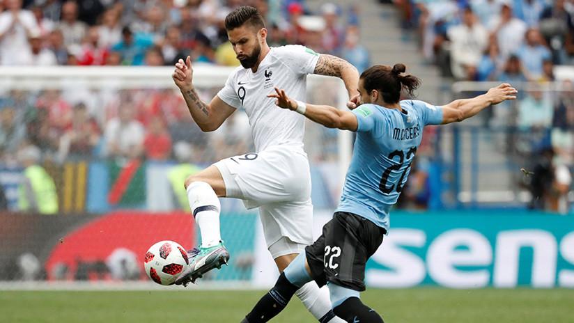 Francia y Uruguay se juegan el pase a semifinales en Rusia 2018