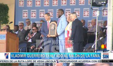 Vladimir Guerrero: Tercer dominicano en el salón de la fama de Cooperstown