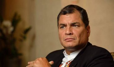 Expresidente Correa: