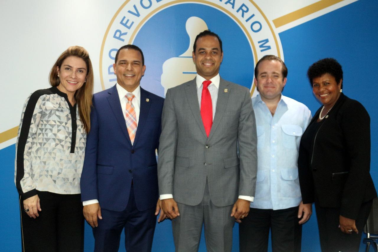 PRM Presenta a Ronald Sánchez como nuevo vocero en la Cámara de Diputados
