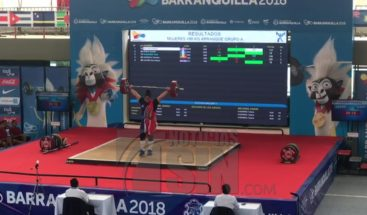 Verónica Saladín gana oro en arranque de 90kgen Juegos Centroamericanos