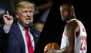 LeBron James acusa a Trump de