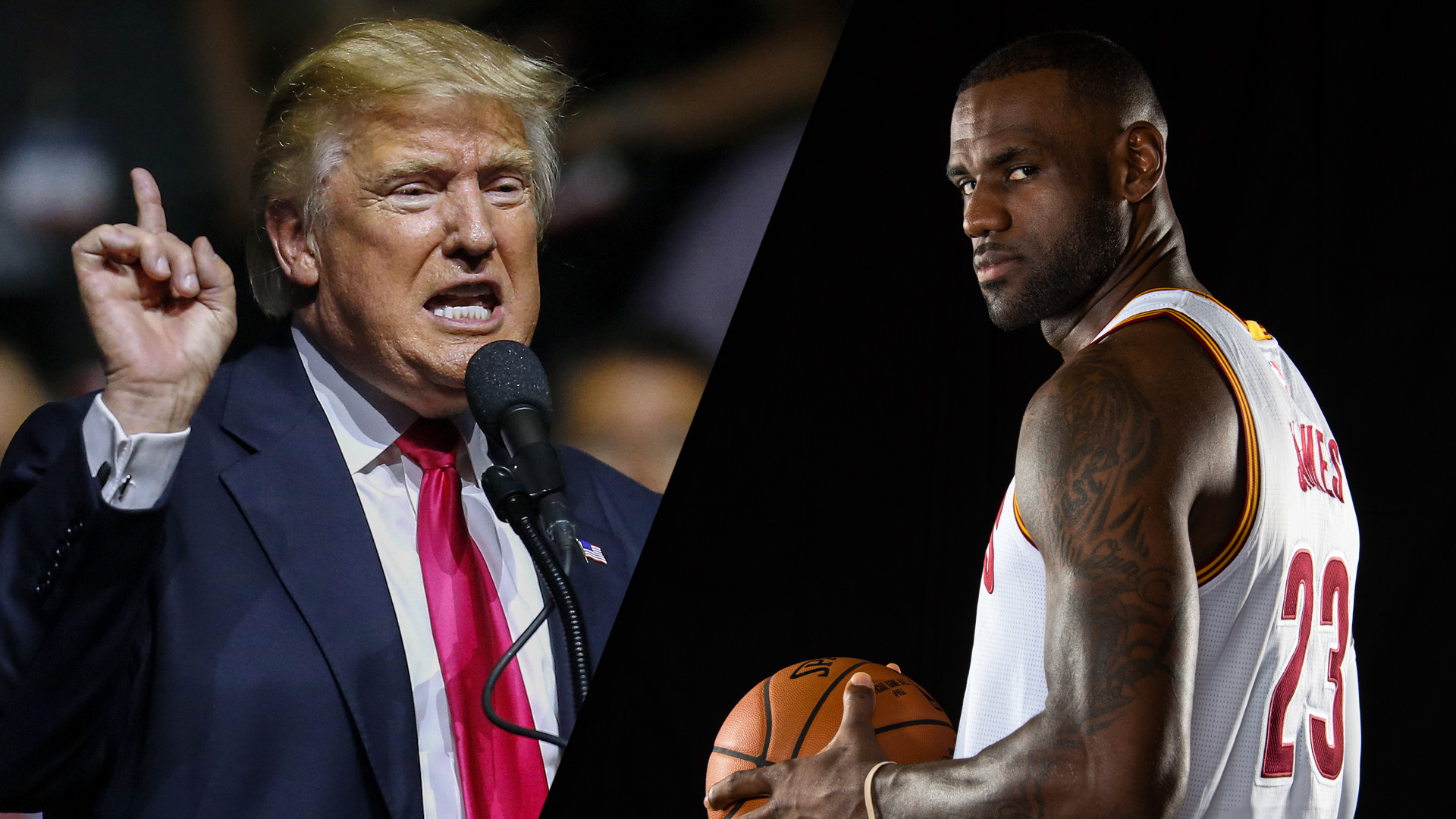 LeBron James acusa a Trump de