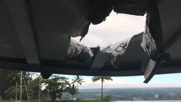 Más de 20 heridos en Hawái por una bomba volcánica que perforó techo de barco
