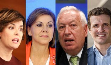 Primera batalla de las primarias del Partido Popular para sustituir a Mariano Rajoy