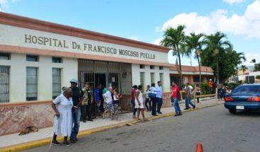 Filtraciones en el hospital Moscoso Puello a solo meses de ser inaugurado