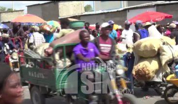 Funciona con normalidad mercado binacional pese a disturbios en Haití