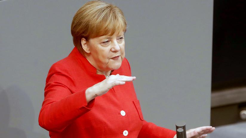 Merkel: Alemania se compromete a hacer