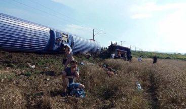Diez muertos y 73 heridos al descarrilar un tren en Turquía