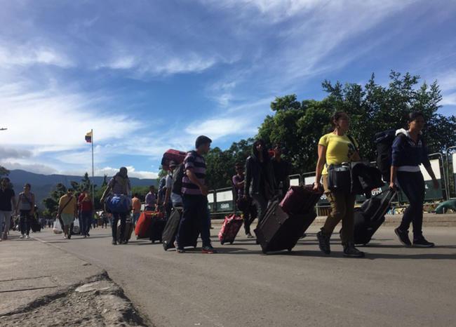 """Migración Colombia: """"El Simón Bolívar es el puente de la esperanza para venezolanos"""""""