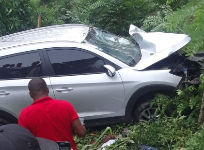 Dos muerto y un herido en unaccidente en Hato Mayor