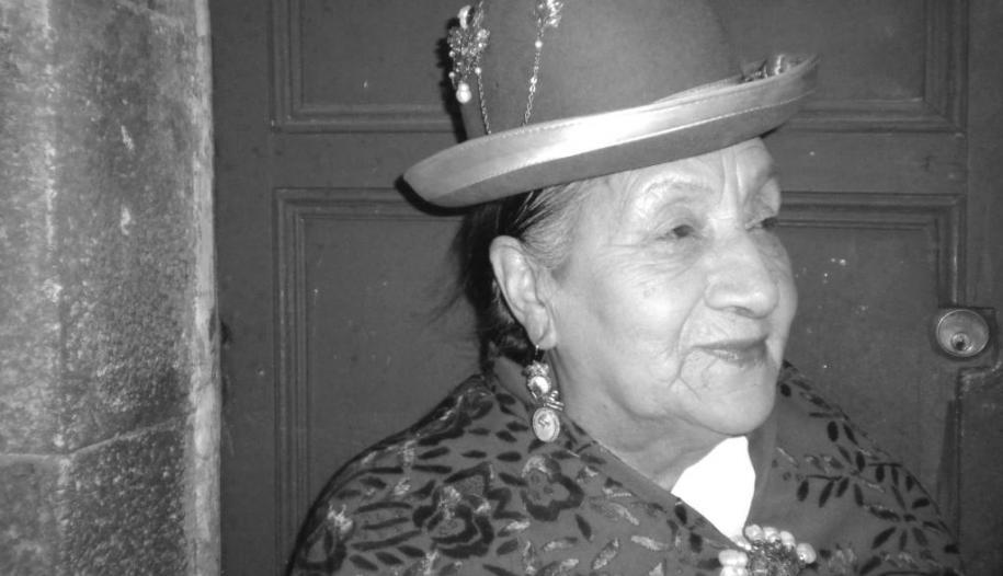Muere a sus 83 años Rosita Ríos actriz del teatro y cine boliviano