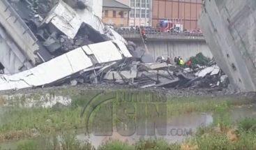 Al menos 30 muertos y varios heridos tras derrumbe de viaducto en Italia