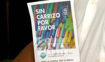 """Inician campaña """"sin sorbete"""" por daños del plástico en Panamá"""