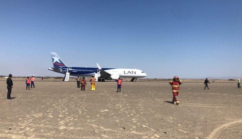 Cuatro aviones alteran itinerarios por amenaza de bomba