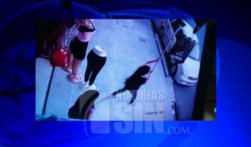 Mujer saca un ladrón de su negocio a punta de escoba en Ecuador