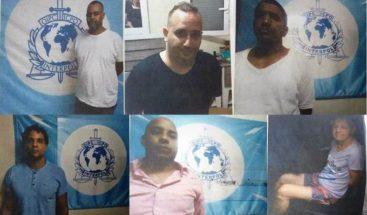 Interpol captura a 13 prófugos, entre ellos varios dominicanos