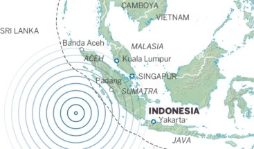 Sismo de magnitud 7 causa un pequeño tsunami en Indonesia