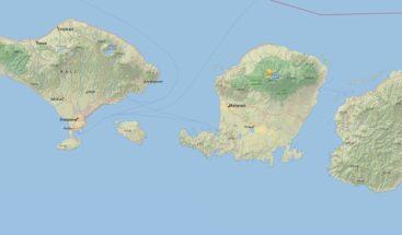 Se produce un nuevo sismo de magnitud 5,4 en Indonesia