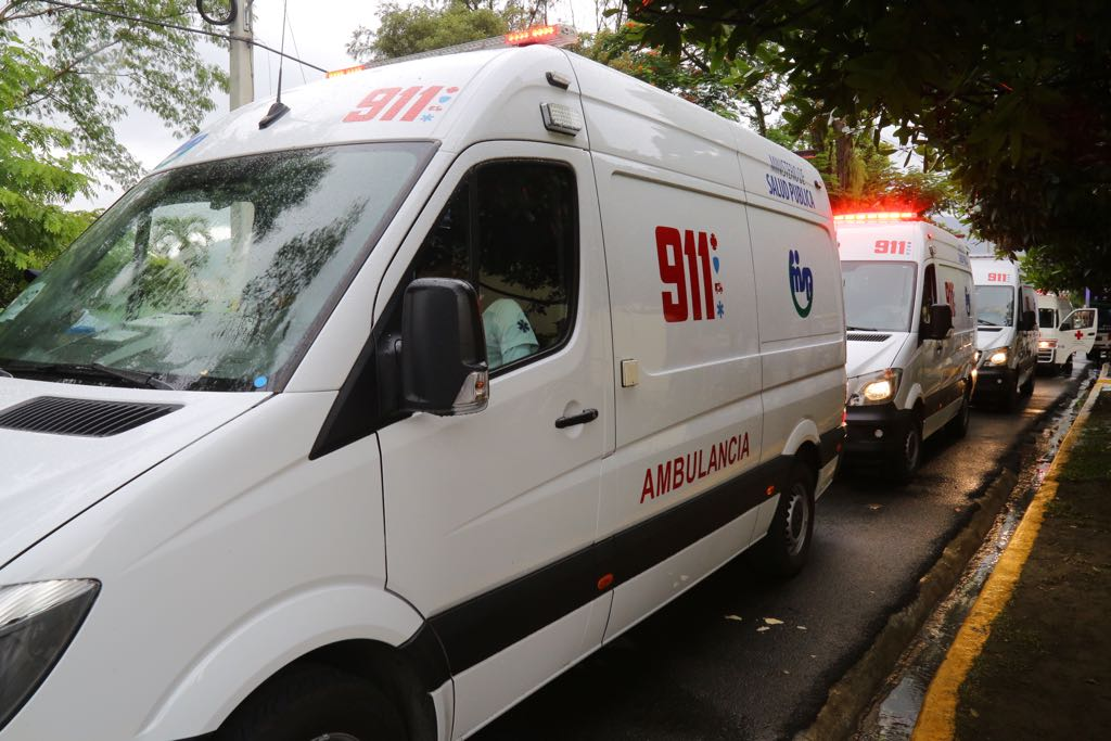 Presidente Medina deja en funcionamiento sistema 911 en Monseñor Nouel