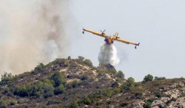 Un incendio fuera de control arrasa 2.700 hectáreas en España