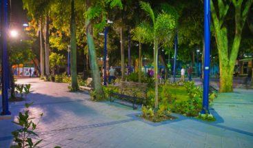 Ayuntamiento del DN remoza e ilumina parque en Villa Consuelo