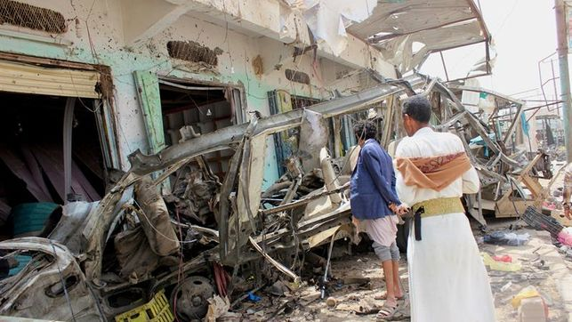 Bomba usada por saudíes en Yemen fue suministrada por EEUU, según CNN