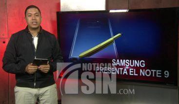 Novedades del celular Samsung Galaxy Note 9
