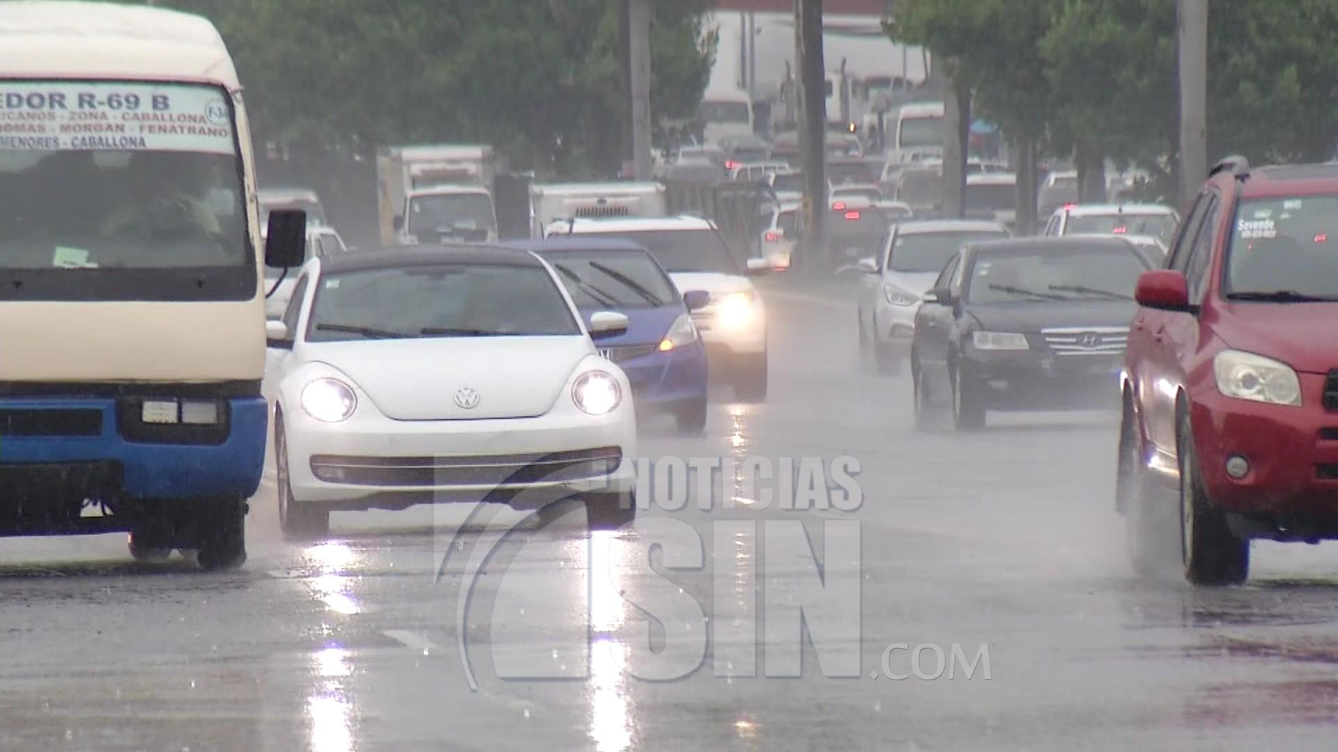 Vaguada genera aguaceros y tronadas; cinco provincias en alerta