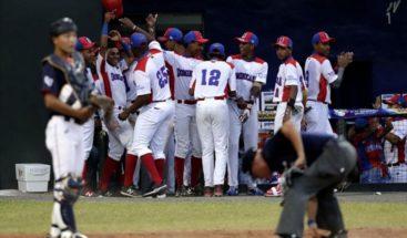 República Dominicana logra su primera victoria en el Mundial Sub'15