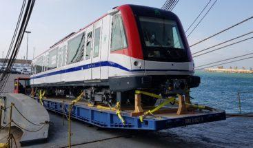 Este sábado llegan dos trenes más para Línea 2B del Metro
