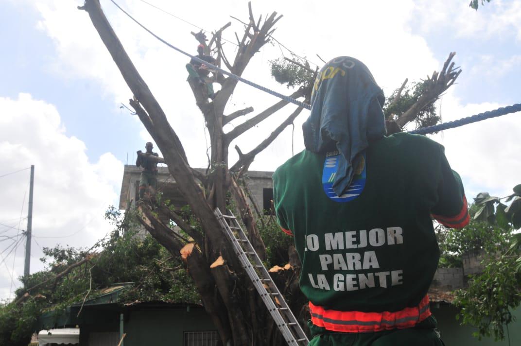 ASDE realiza jornadacomunitaria en el barrio Puerto Rico de Los Mina