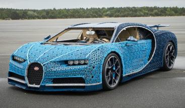Construyen un alucinante Bugatti de tamaño real con piezas de Lego