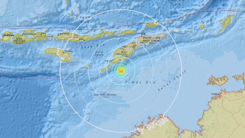 Un sismo de magnitud 6,2 se registra en Indonesia