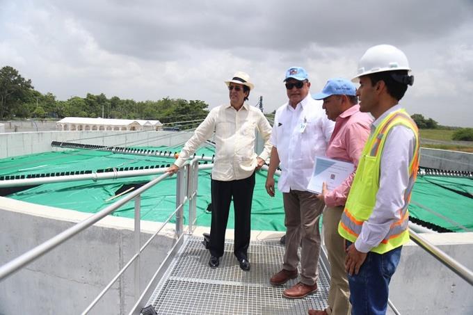 Anuncian entrada operación de planta de aguas residuales en río Ozama