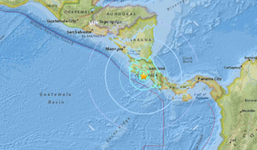 Fuerte sismo de magnitud 6,2 sacude Costa Rica