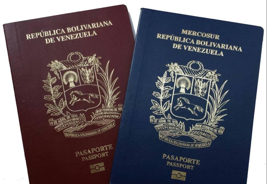 Acuerdan extender vigencia de pasaportes vencidos de venezolanos