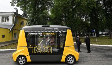 Así es el Matrёshka la nueva versión del primer autobús autónomo