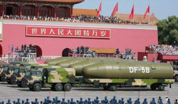 China amplía capacidad nuclear y entrena para atacar a EE.UU.