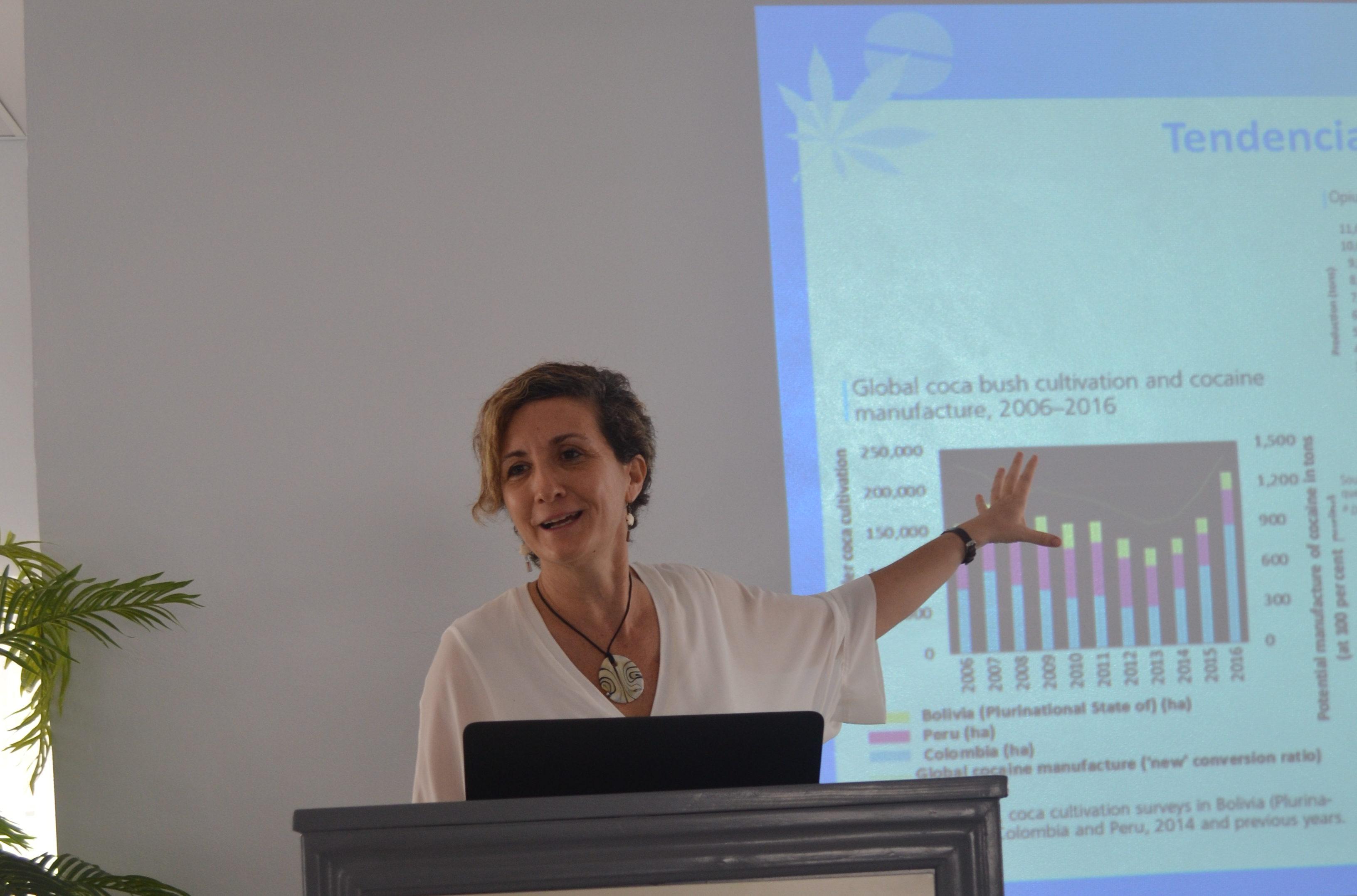 Informe sobre Drogas detalla desafíos para la salud pública