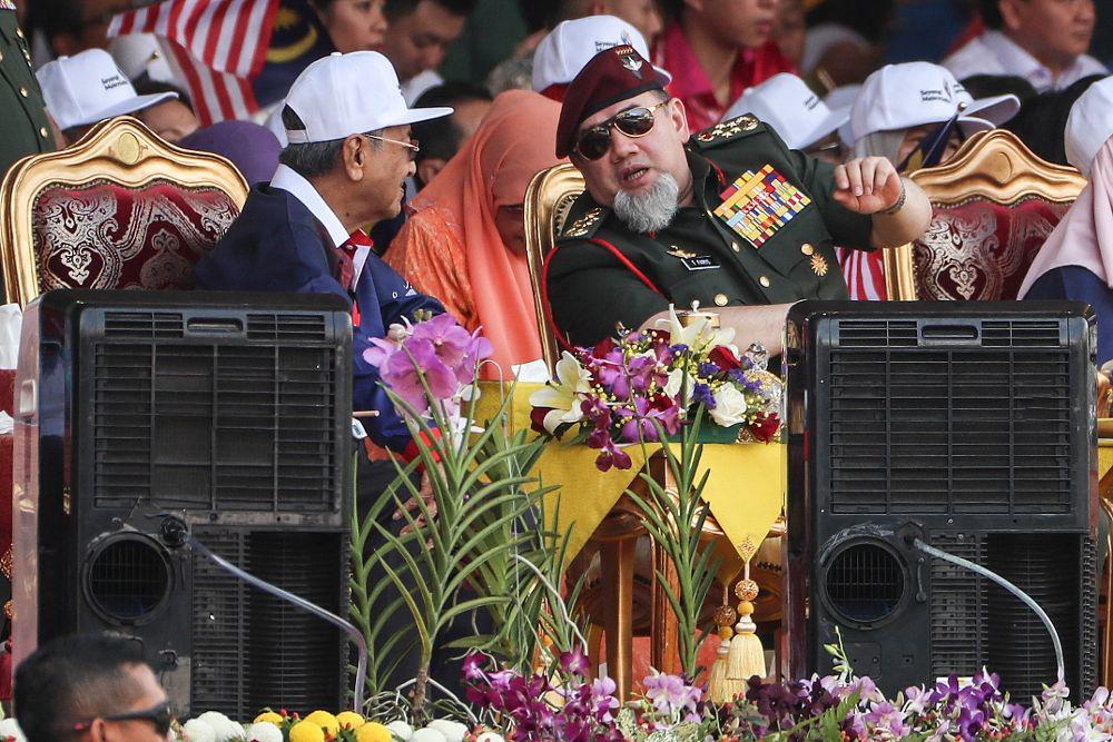 El rey de Malasia cancela su cumpleaños para donar el dinero al Estado