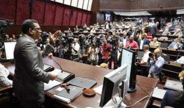 Cámara de Diputados conoce proyecto de Ley de Partidos