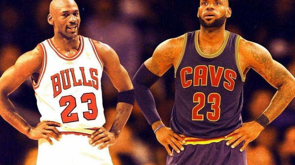 LeBron James o Michael Jordan: ¿quién es el mejor jugador de la NBA?