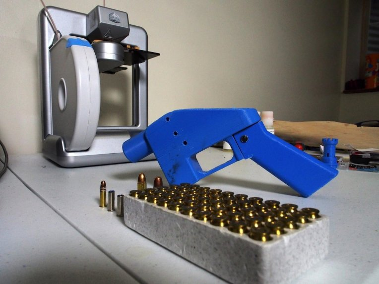 Bloquean distribución de manuales para impresión 3D de armas en EEUU
