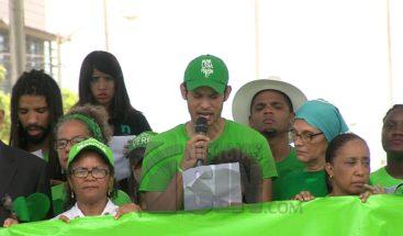 Manifiesto íntegro de la Marcha Verde al cierre de Marcha del Millón