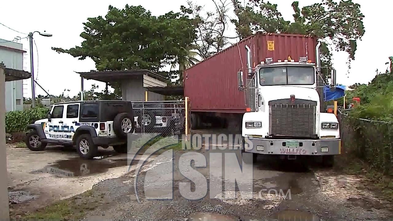 Camión cargado de ayuda nunca llegó a su destino en Puerto Rico